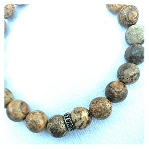 Bayong Wooden Bead Chavez for Charity Bracelet